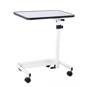 Foldable Tilt top Overbed Table