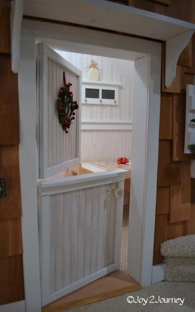 Closet Playhouse door