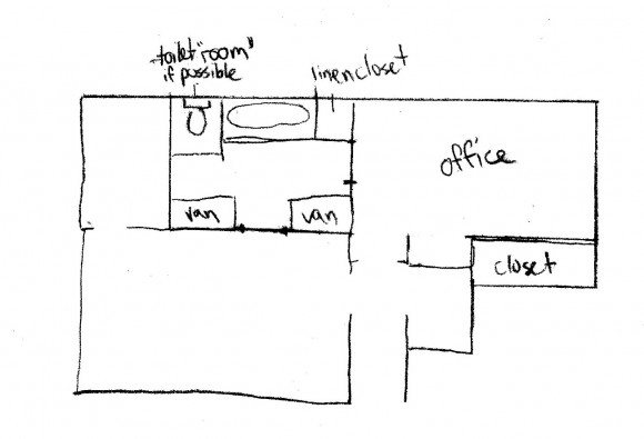 Master bathroom dimensions - This One Is From Jennifer Linek She Is A Fellow Blogger Heim Elich