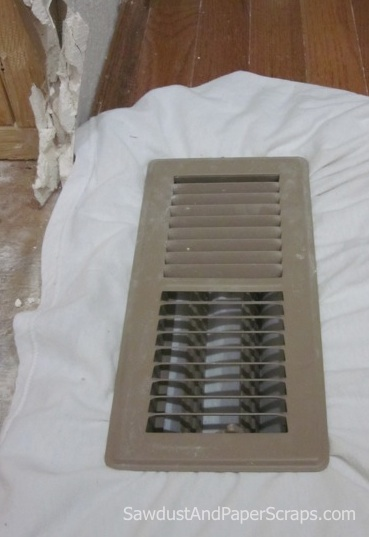 Keep drywall dust out of vents