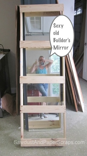 Building a Framed Mirror
