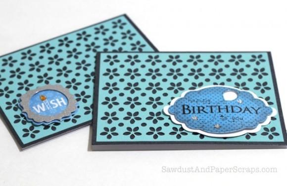 Teacher's Gift: Handmade Birthday Cards