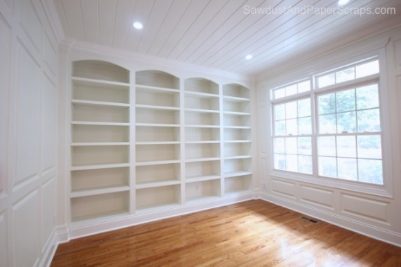 Library - SawdustGirl.com house tour