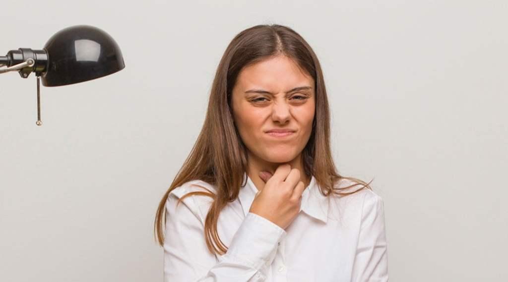cuidar garganta irritada
