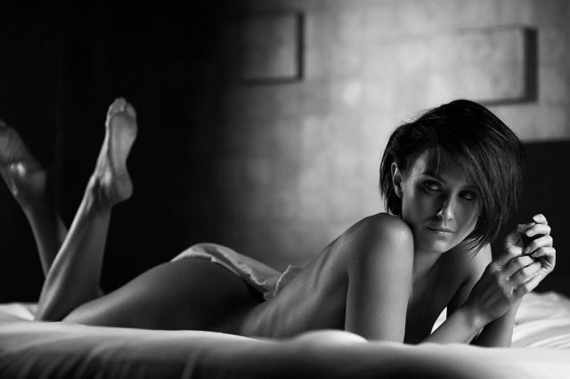 Nicky Whelan In Tj Scott Photoshoot For His Lazy Sunday Book 2