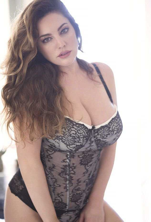 Kelly Brook In Valentines Day Lingerie Photoshoot 2018 3
