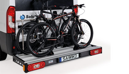 bicycle and scooter carrier for vans al ko