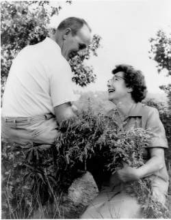 Dr. F. Morgan & Agnes Keane Pruyn established Pruyn Audubon Sanctuary beginning with the purchase of the Gedney Brook valley parcels in 1966 and adding additional parcels with the bequest of their Millwood Road house and an endowment. Photo: SMRA Archives.