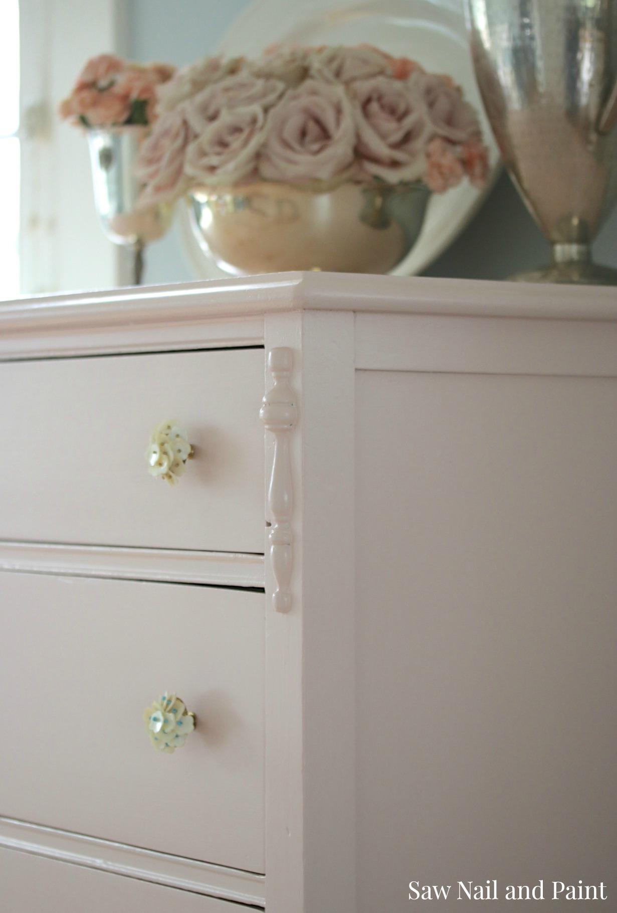 Blush Dresser side
