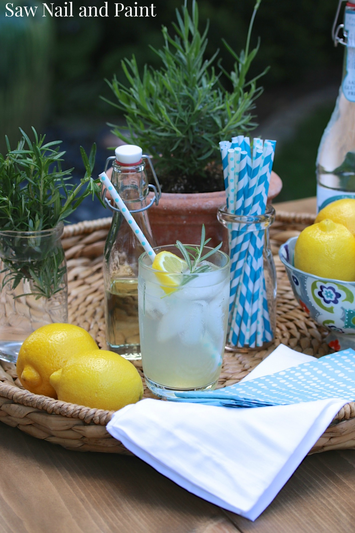 Rosemary lemonade 10