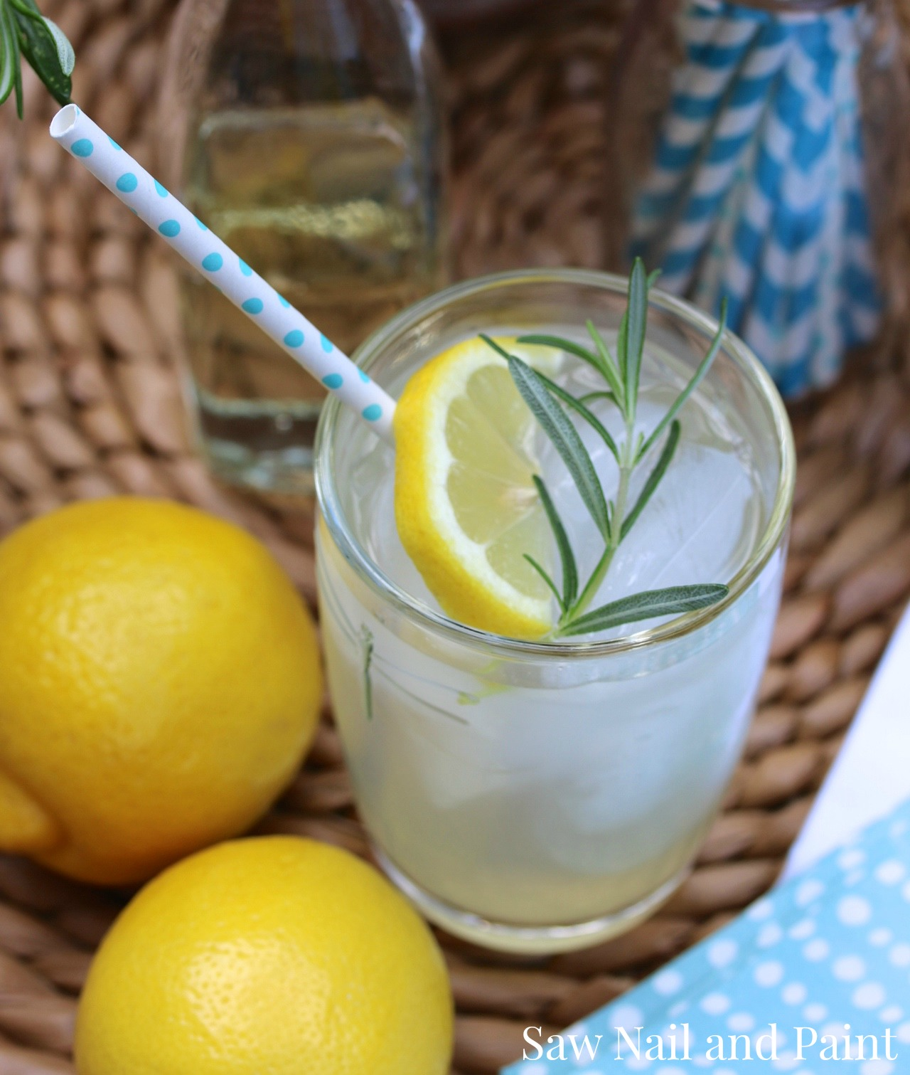 Rosemary lemonade 2