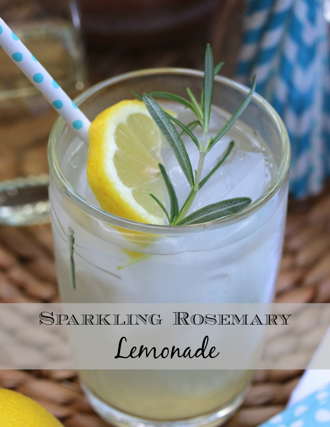 Rosemary lemonade header