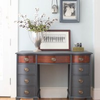Vintage Desk Makeover with Fusion Mineral Paint