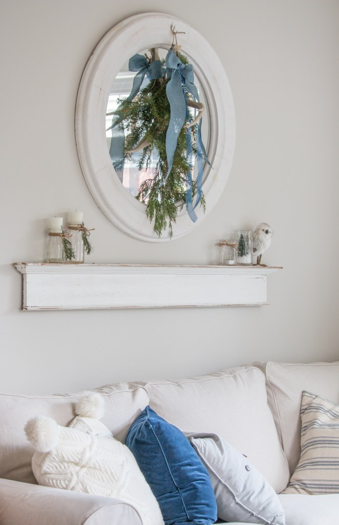 Cozy And Natural Christmas Living Room Saw Nail And Paint