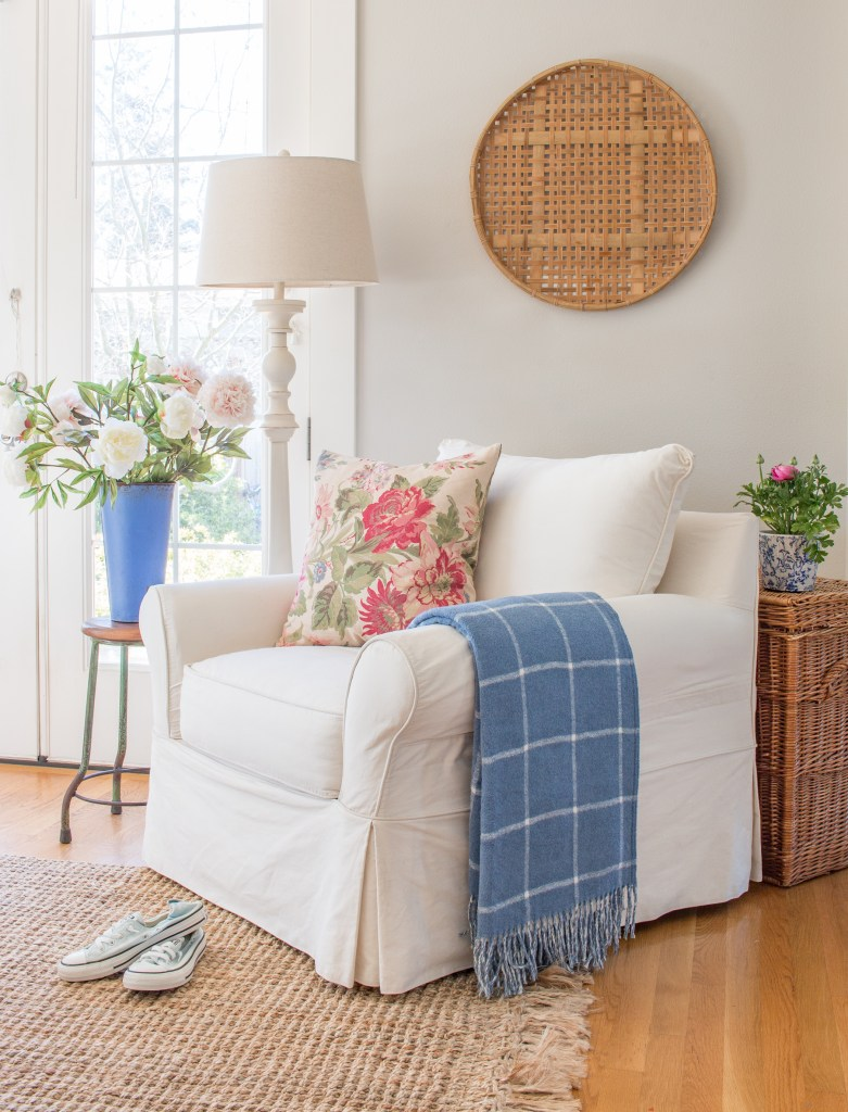 Fresh And Floral Spring Home Tour Saw Nail And Paint