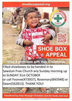 Shoebox Appeal! - click for full size
