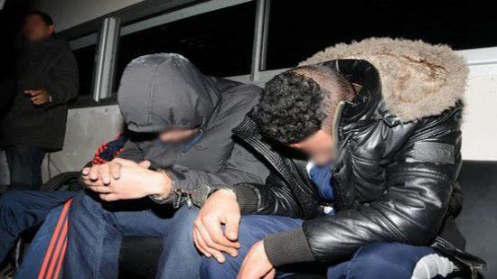 صورة اعتقال شخصين متورطين في سرقة سكن وظيفي بمؤسسة تعليمية بمراكش