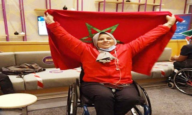 صورة المسفيوية عمودي تهدي المغرب أول ميدالية في الألعاب البارالمبية بطوكيو
