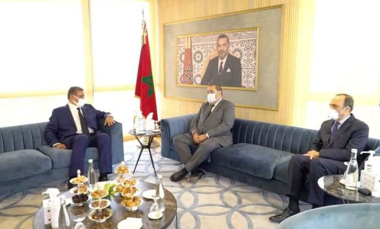 صورة أخنوش يواصل لقاءاته ومشاوراته لتشكيل الحكومة بلقاء لشكر والمالكي