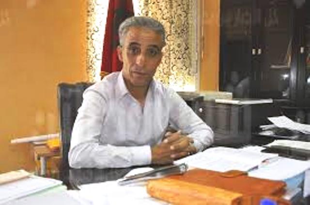صورة بعد تزكيته من طرف المهاجري.. احمد الهلال يضع ملف ترشحه لرئاسة جماعة شيشاوة