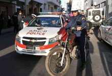 صورة اعتداء بالسيوف على شرطي وسرقة سلاح وظيفي بأكادير