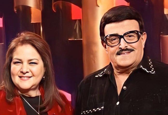 Samir Ghanem and Dalal Abdel Aziz