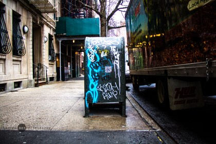 New York Mailbox, Manhattan Island