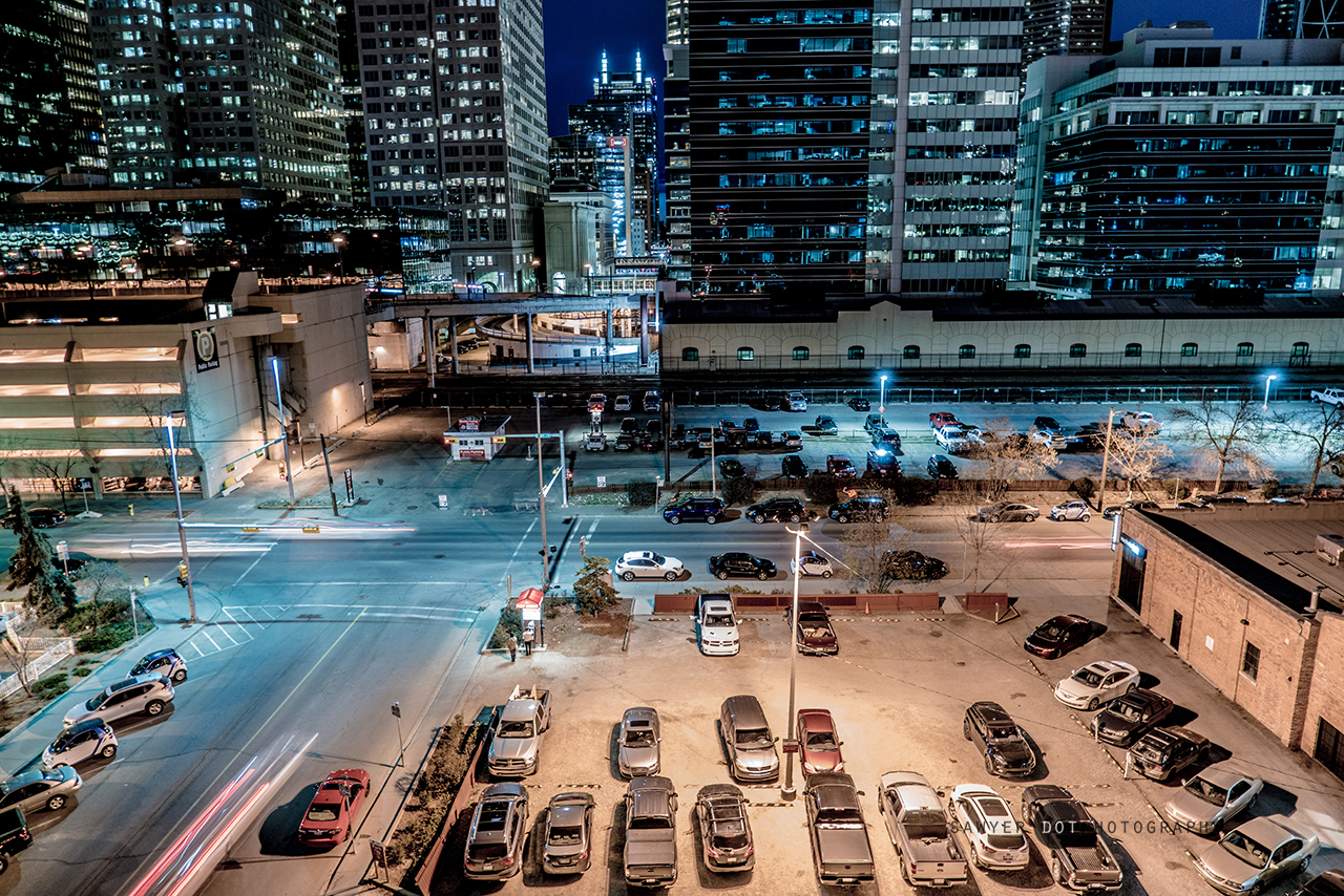 Working Late, Lewis Lofts Rooftop, Calgary, Sawyer Russel, sawyer.photography