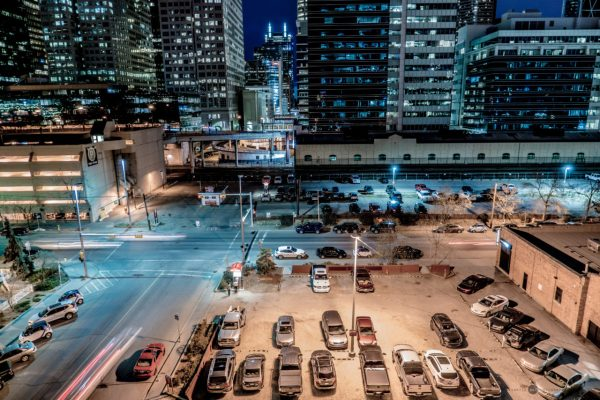 City at Work, Lewis Lofts Rooftop, Calgary, Sawyer Russel, sawyer.photography