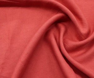 Washed Linen – Coral