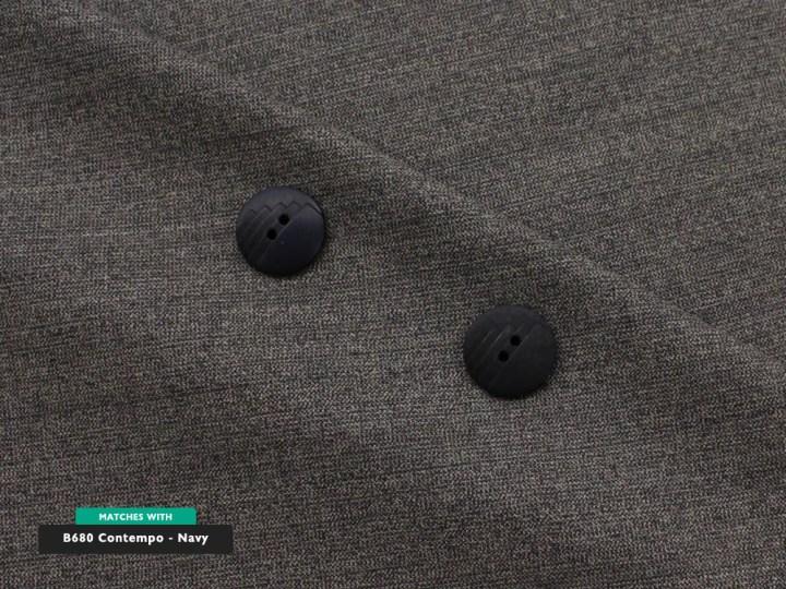 Navy Tweed