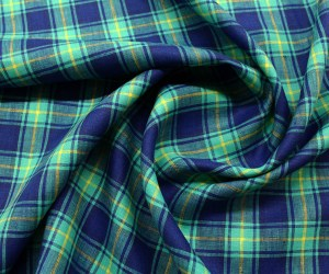 EmpressLinen – Blue Plaid