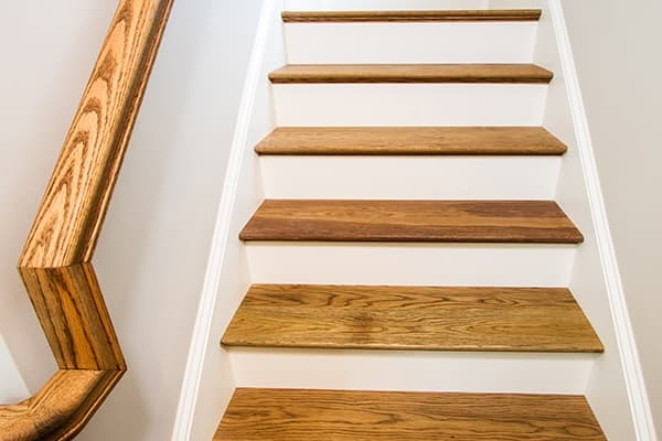 Color Coordinated Stair Treads For Sawyer Mason Sawyermason Com | Wood Floor Stair Treads | Brazilian Cherry | Stair Nosing | Oak Stair Risers | Vinyl Flooring | Carpet
