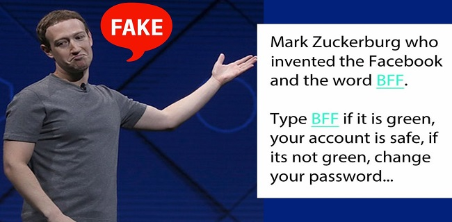 نوشتن BFF و هک شدن فیسبوک؛ شایعه یا حقیقت؟