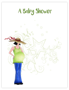 BB 13(i) - pregnant with hat