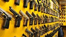 Imitation handgun shop, fake guns, Istanbul, Turkey