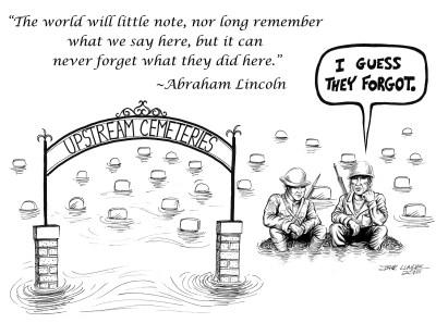 Cemetery Cartoon