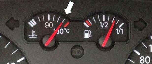 ارتفاع حرارة محرك السيارة
