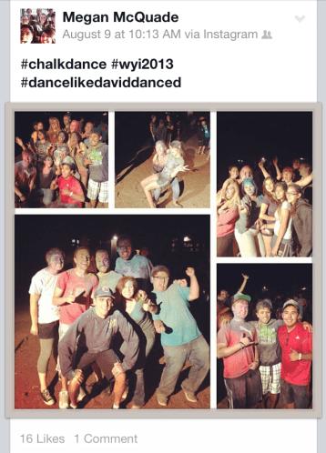 Chalk Dance 2