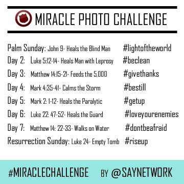 Miracle Photo Challenge