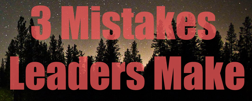 3 Mistakes Leaders Make When Taking Kids To Events