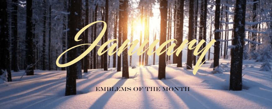 Emblems of the Month – January