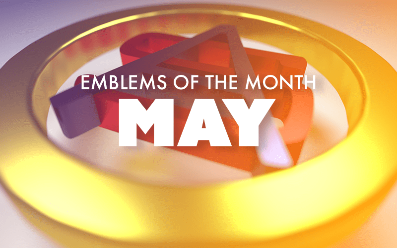 May – Emblems of the Month