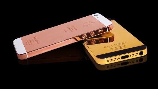 Golden iPhone
