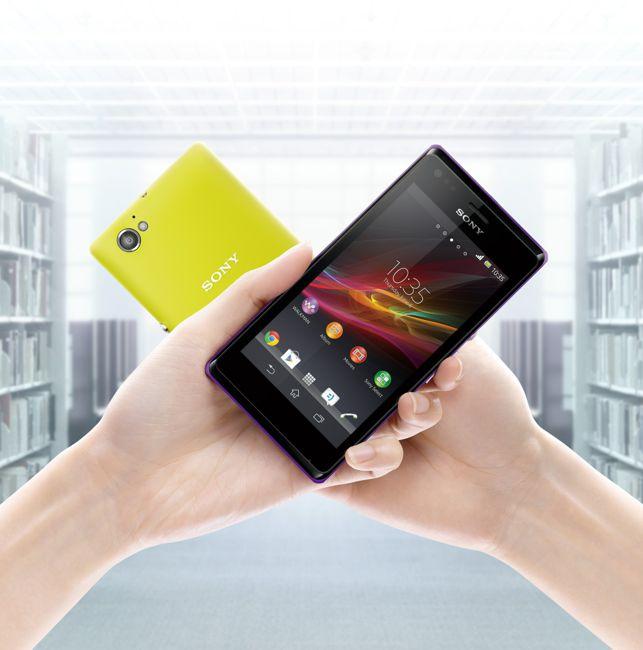 圖2_Xperia M透過NFC連結,只要輕輕one-touch,就能全面啟動即時分享、即時感動的行動生活!