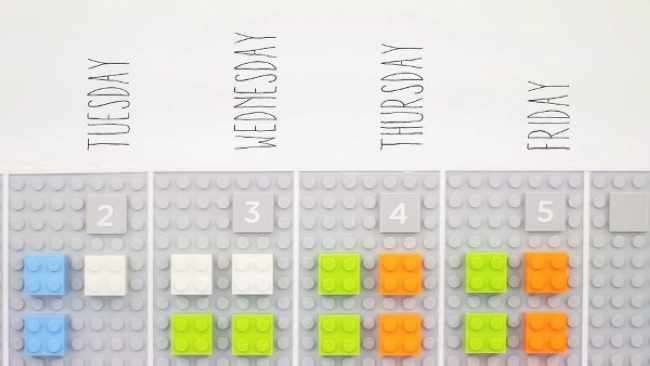 Digitized LEGO Calendars (3)