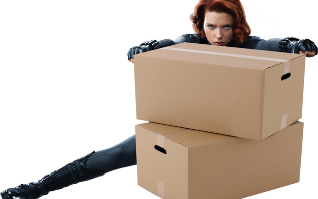 She could move a lot of cardboard boxes, but, like, stealthily.