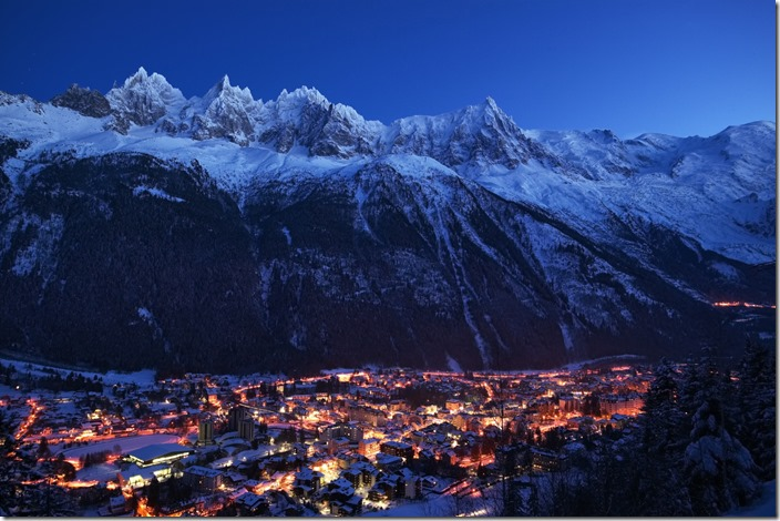 Chamonix-Mont-Blanc-by-night