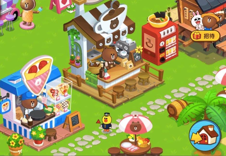 【圖五】玩家等級提升後,可新增農場居民,開設咖啡廳、漢堡店或礦場等各種店面及設施
