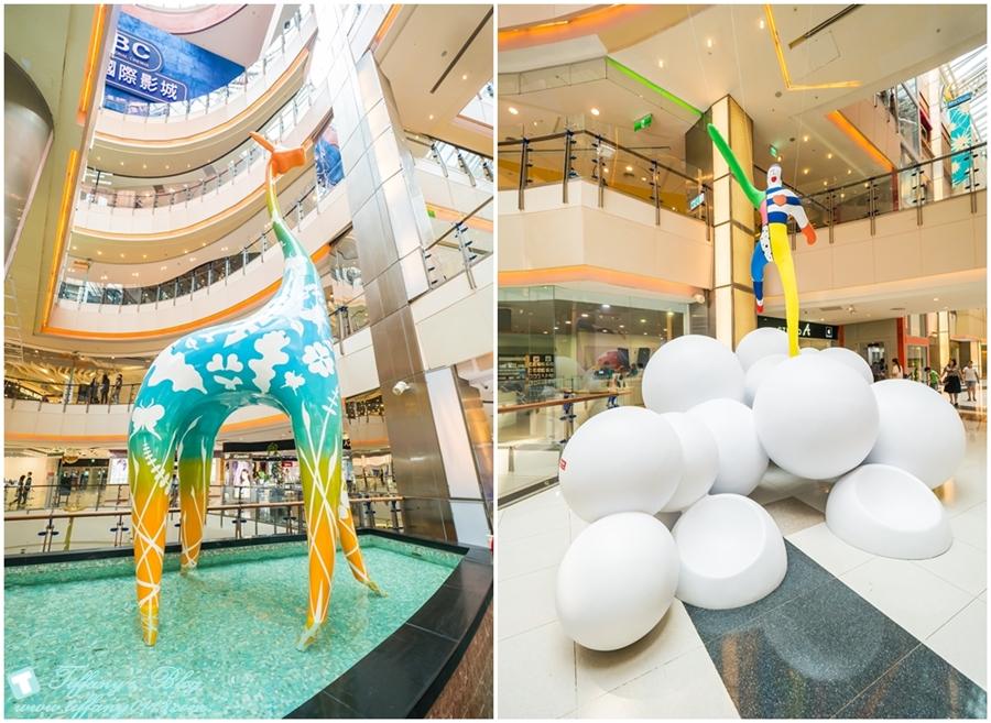 [桃園景點]大江購物中心母親節活動全桃最划算/最新裝置藝術還有優惠活動讓妳有吃有逛還能拍網美照